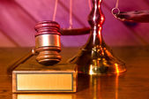 Lag och ordning — Stockfoto