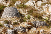 Salento tipical trullo — Foto Stock