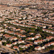 Suburban Neighborhood Las Vegas Aerial — Stock Photo