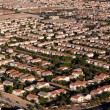 Suburban Neighborhood Las Vegas Aerial - Stock Photo