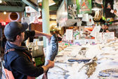 Pike Place Fish Market — Stock Photo