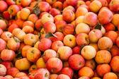 Background of Fuji Apples — Stock Photo