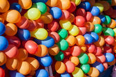 Colorful Dart Ballons Game at the Carnival — Stock Photo