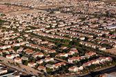 Antena de las vegas de vizinhança suburbana — Foto Stock