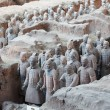 Stock Photo: TerracottWarriors in Xian, China