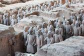 Terracotta Warriors in Xian, China — Stock Photo