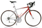 Race road bike — Stock fotografie