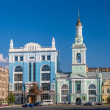 Former Greek Monastery on the Kontraktova Square. Kiev, Ukraine — Stock Photo