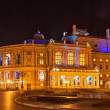 Odessa Opera and Ballet Theater at night. Ukraine — Stock Photo #12049160