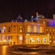 Odessa Opera and Ballet Theater at night. Ukraine — Stock Photo