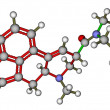 LSD molecular structure — Stock Photo