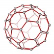 Fullerene C60 molecular structure — Stock Photo #12083423