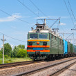 Stock Photo: Freight electric train