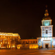 Panoramic view of Mikhaylivs'ka square in Kyiv — Stock Photo