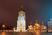 St. Sophia Cathedral in Kyiv, Ukraine — 图库照片