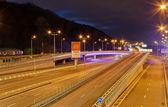 Traffic interchange — Stock Photo