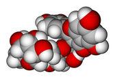Rutin space-filling molecular model — Stock Photo