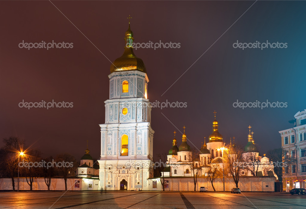 St. Sophia Cathedral in Kyiv, Ukraine — Stock Photo #12098942