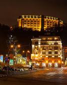 Kyiv poshtova square — Stock Photo