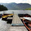 Lake dock — Stock Photo #12073222