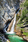 Waterfall Savica — Stock Photo