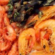 Seafood plate — Stock Photo #12050832