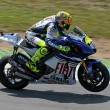 Stock Photo: Valentino rossi at Portugal Moto GP 2008