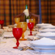 Table set — Stock Photo
