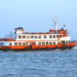 Portuguese commuter boat — Stock Photo