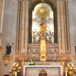 Stock Photo: Church altar with saints images