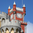 Stock Photo: Detail of reinassance castle in sintra
