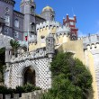 Stock Photo: View of reinassance castle in sintra