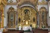 Portuguese church altar — Stock Photo