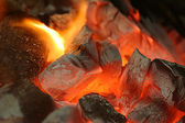 Coal Burning — Stock Photo