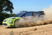 World rally car — Stock Photo