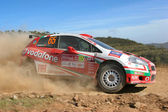 World rally car — Stockfoto