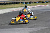 Kart Race — Stock Photo