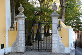 Estate property entrance in sintra — Stock Photo