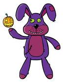 Bad bunny puppet — Stock Vector