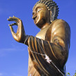 The big buddha statue — Stock Photo