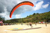 PHUKET, THAILAND - MAY 21: Paragliding Competition, Annual event — Photo