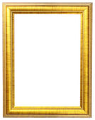 Gold picture frame — ストック写真