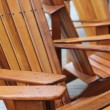 Stock Photo: Adirondack Chairs