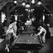 CORNER POCKET — Stockfoto