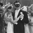 MASQUERADE BALL — Stockfoto