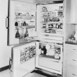 Stock Photo: Refrigerator, 1961