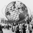 The Unisphere, symbol of the New York 1964-1965 - Stock Photo