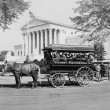 James J. Grace, sightseeing guide in Washington D.c. since 1897, circa 1942 — Stock Photo