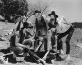 Dumme hillbillies — Stockfoto