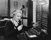 SWITCHBOARD — Foto Stock
